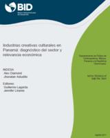 Industrias creativas culturales en Panamá  diagnóstico del sector y  relevancia económica fb473e585e